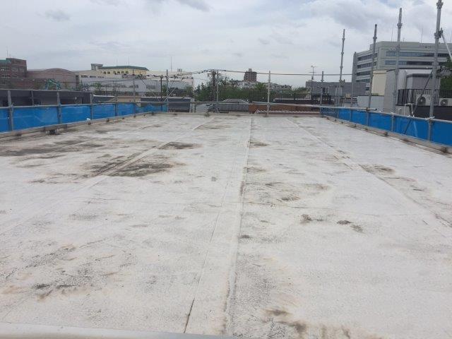 防水層劣化による屋上の防水工事(ウレタン通気緩衝工法) 埼玉県さいたま市大宮区のN様邸