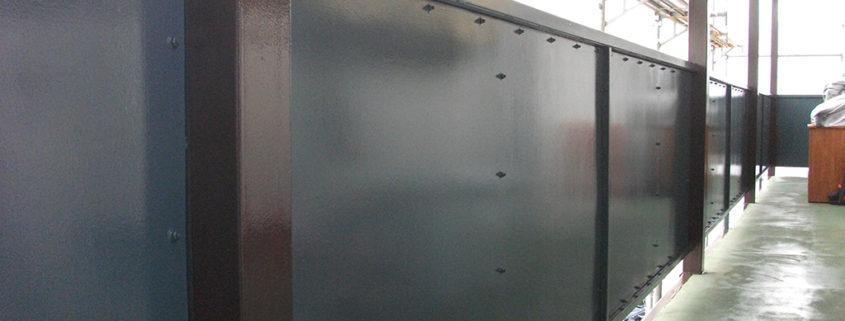 鉄部塗装 施工実績