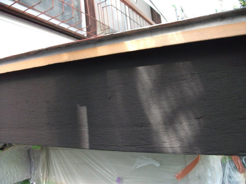 木部の塗装工事|埼玉県さいたま市大宮区のI様邸にて塗り替えリフォーム