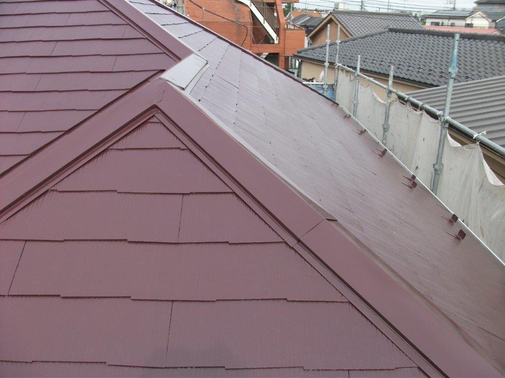 屋根の塗装工事 埼玉県さいたま市中央区のN様邸の塗り替えリフォーム