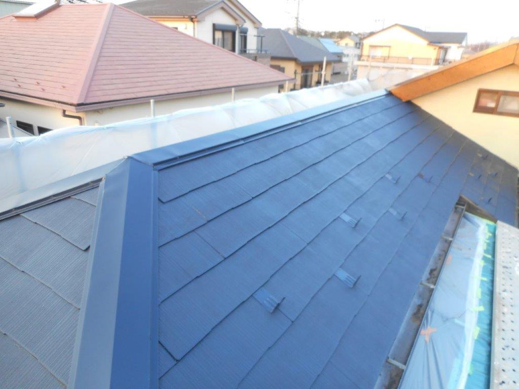 コロニアル屋根の塗装工事|埼玉県川口市にお住いのY様邸にて塗り替えリフォーム