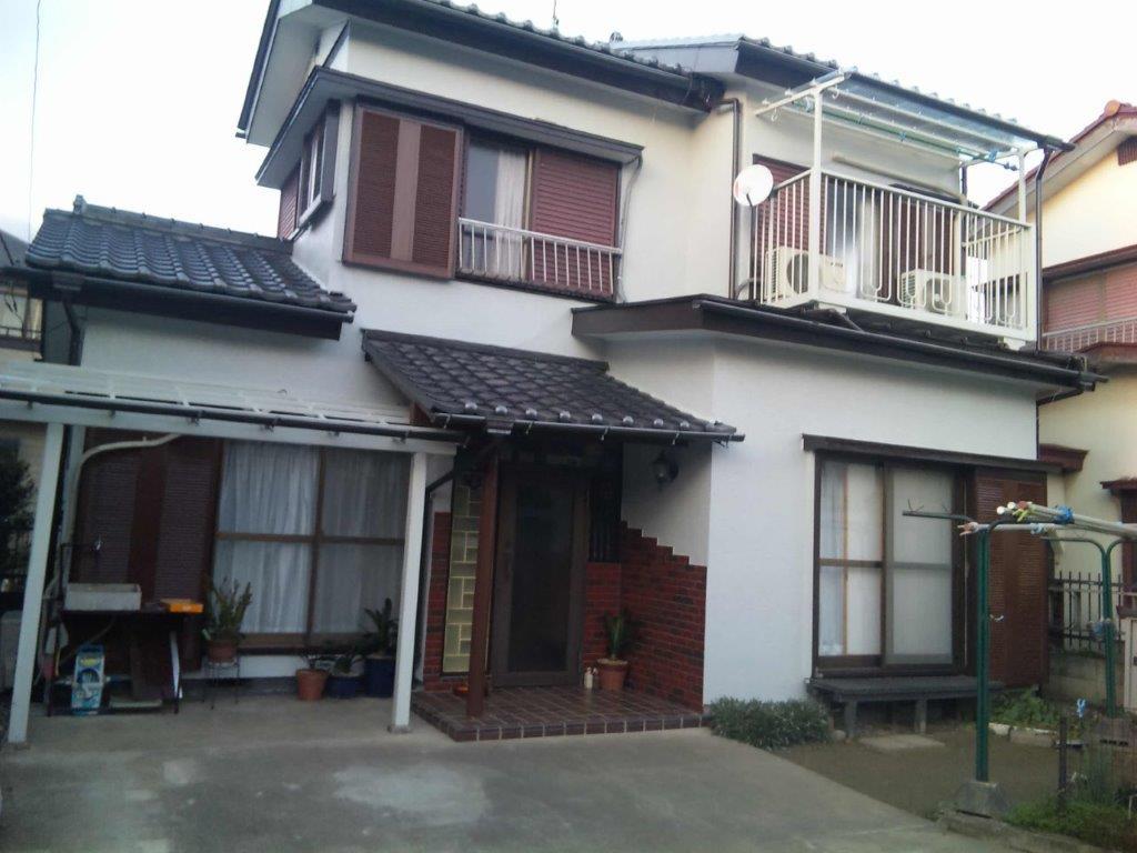外壁の塗装工事|埼玉県さいたま市岩槻区のI様邸にて塗り替えリフォーム