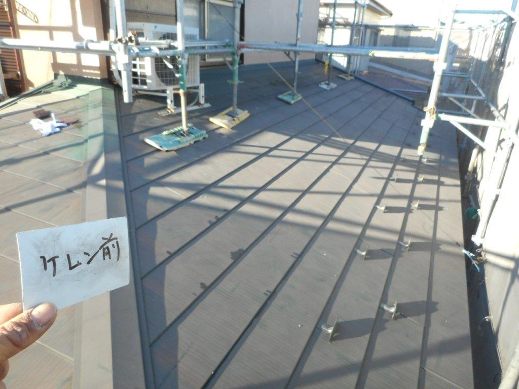 金属屋根の塗装工事|埼玉県川口市東川口のS様邸の施工事例