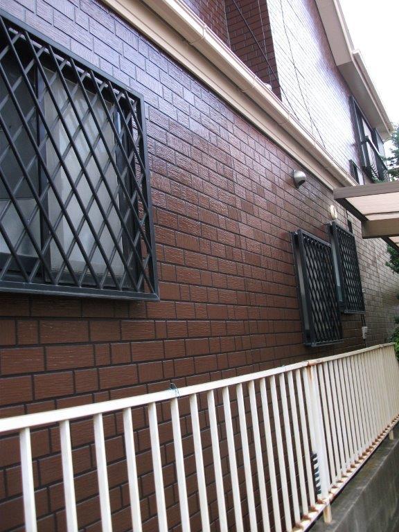 外壁塗装後の状態