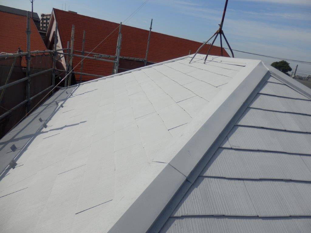 屋根の塗装工事|埼玉県さいたま市にて塗り替えリフォーム