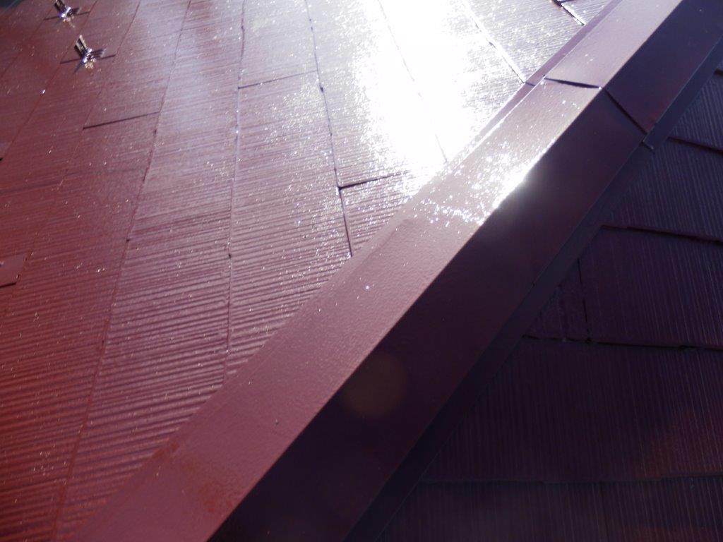 屋根の塗装工事