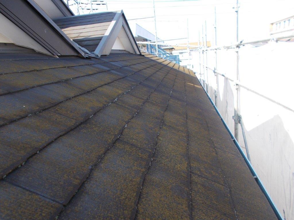 屋根の施工前