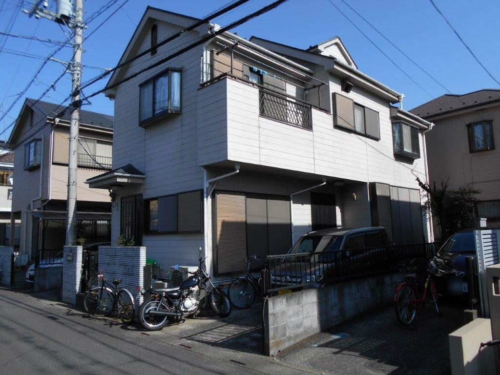 外壁・屋根・付帯部の塗装工事前