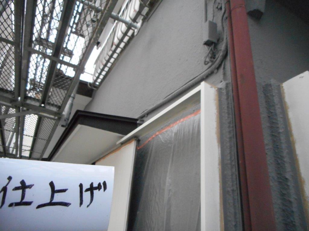 外壁の仕上げ塗装