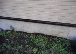 外壁穴の補修工事